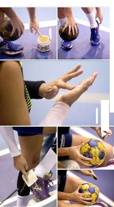 How to use handball wax – the right way. Hand Dancing, Handball Players, Volleyball Games, Just A Game, Sport Quotes, Sport Motivation, Cool Style, Basketball, Surya Actor
