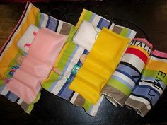 Roll-Up Toiletry Bags