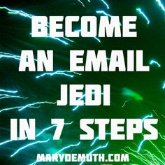 Have 1000 #emails in your #inbox? You can zero it by using Jedi #methods.