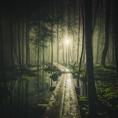 Mystical Night Photography from Finland by Mikko Lagerstedt