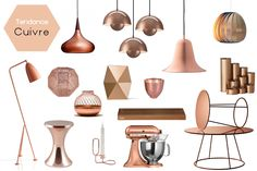 1000 images about copper in the house on pinterest for Decoration murale cuivre