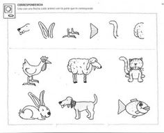 free animal worksheet