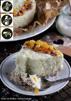 Cake Recipes, Vegan Recipes, Dessert Recipes, Cooking Recipes, Eat Happy, Vegan Cake, Healthy Desserts, Yummy Cakes, Polish Recipes
