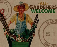All Gardeners Welcome 5 Painting Print on Wrapped Canvas