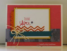 Greeting Card Thank You Handmade For Anyone by Rubberredneck, $5.95