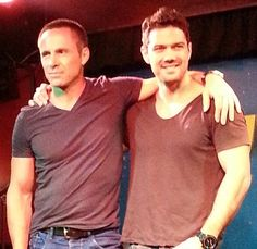 William deVry and Ryan Paevey
