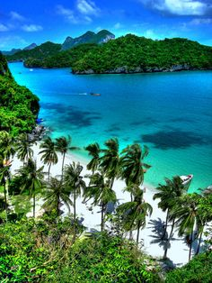 #traveldreamery - Lusting over this beautiful location- Marine Park, Thailand