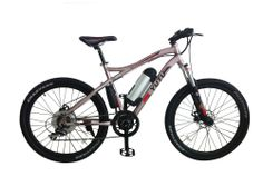 "26"" aluminum alloy frame 8FUN BRAND 250W middle motor drive, http://yutuebike.en.alibaba.com/product/1732512356-221255903/wholesale_bicicletas_chinas_electricas_mountain_bike.html"