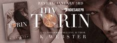 Girl with a Pen and a Dream: Cover Reveal | My Torin by K. Webster