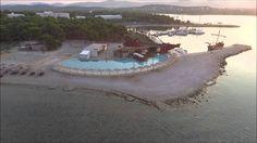 Dji Phantom 3 over Solaris Beach Resort in Sibenik (Croatia)
