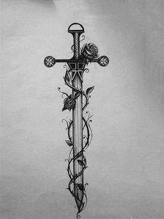 1000 Ideas About Sword Tattoo On Pinterest Tattoos Dagger Elegant tattoos gallery