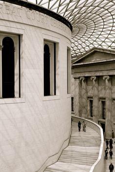 British Museum Great Court roof