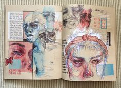 Book Layout Inspiration Sketchbook Ideas 24 Ideas - A Level Art Sketchbook -Design Book Layout Inspiration Sketchbook Ideas 24 Ideas - A Level Art Sketchbook - 23 тыс. Kunst Inspo, Art Inspo, Sketchbook Inspiration, Sketchbook Ideas, Layout Inspiration, Art And Illustration, Kunst Portfolio, Portfolio Ideas, Gcse Art Sketchbook