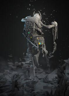Patrick Evrard 3D artist Patrick, rifacendosi ad un fumetto che ha avuto origine negli anni 80', ha voluto creare Chojioro Uchida, noto soprattutto come Old Cho, un vecchio che vive in un complesso residenziale e che possiede poteri psichici da lui utilizzati per uccidere gli altri abitanti del complesso. Il motivo? Collezionare oggetti appartenenti alle vittime, da lui intesi come trofei. I software utilizzati sono Maya, Illustrator, Photoshop, Mental Ray.