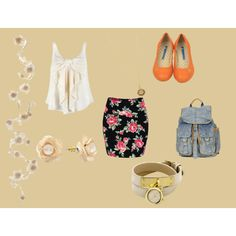 dressy school day, created by smepley on Polyvore