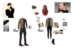 """Alec and Rosabella"" by katrina-hale ❤ liked on Polyvore featuring NIKE, American Vintage, Balmain, Under Armour, Sophnet., Casetify and Lime Crime"