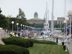 Harbor, Port Huron, Mi.  A wonderful little town to grow up!