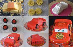 Cars Bliksem McQueen 3D http://www.deleukstetaarten.nl/tips-trucs/taart/cars-bliksem-mcqueen-3d