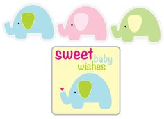 FREE printable elephants perfect for cupcake toppers, garland, napkin rings, food picks or just anything you want to do it for (Ellie) @Beverly LeFevre Kippes @ Alicia Kippes