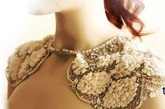 Wedding Bolero - Whimsical Wedding Cover ups - SOFT Wrap (Made to Order ). $429.00, via Etsy.