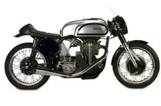 Ex-Buddy Parriot, 1961 and 1962 AFM Camption, 1967 ACA Champion, four owners from Manx Norton Racer Engine no. Norton Manx, Old Bikes, Car Engine, Vintage Motorcycles, Bobber, Motor Car, Motorbikes, Harley Davidson, Las Vegas