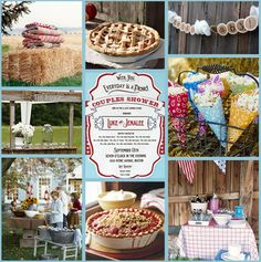 country bridal shower theme ideas - Google Search