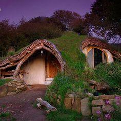 Hobbit House, Wales.