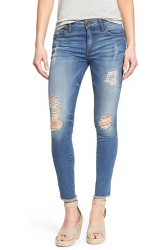 KUT from the Kloth 'Connie' Ripped Ankle Skinny Jeans