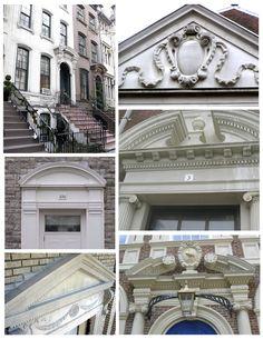 classical interior architecture | Exterior Window Pediments
