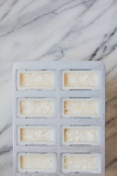 Coconut Cream Popsicles With Vanilla Bean And Malibu Rum by The Modern Proper Alcoholic Popsicles, Malibu Rum, Popsicle Recipes, Nice Cream, Summer Heat, Frozen Desserts, Coconut Cream, Food Print, Sweet Tooth