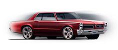 pontiac gto | Pontiac GTO 1966 – Jason Battersby Design