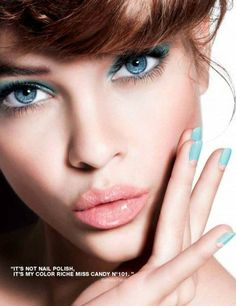 Barbara Palvin for L'Oreal Paris Miss Candy campaign