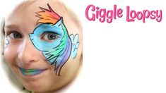Hi guys! Hope you enjoyed this quick and easy My Little Pony face paint tutorial of Rainbow Dash! Rainbow Dash is a fun and feisty pony! Please say hi in the comments below and let me know what you think, oh, and don't forget to subscribe so you don't miss the fun! See you next time! Giggle Loopsy http://giggleloopsy.com Come say hi on Facebook too! https://www.facebook.com/pages/Giggle-Loopsy/1388807438074560