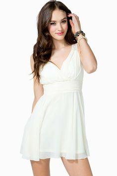 Open Back Lace Flare Dress