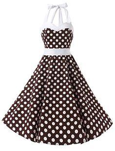 Dresstells Vintage 1950s Rockabilly Polka Dots Audrey Dre... https://www.amazon.com/dp/B01ASPNNVE/ref=cm_sw_r_pi_dp_x_XMkxyb4KD9EX6