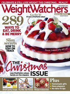 Weight Watchers - December 2013 #magazines #magsmoveme  http://www.weightwatchers.com.au/