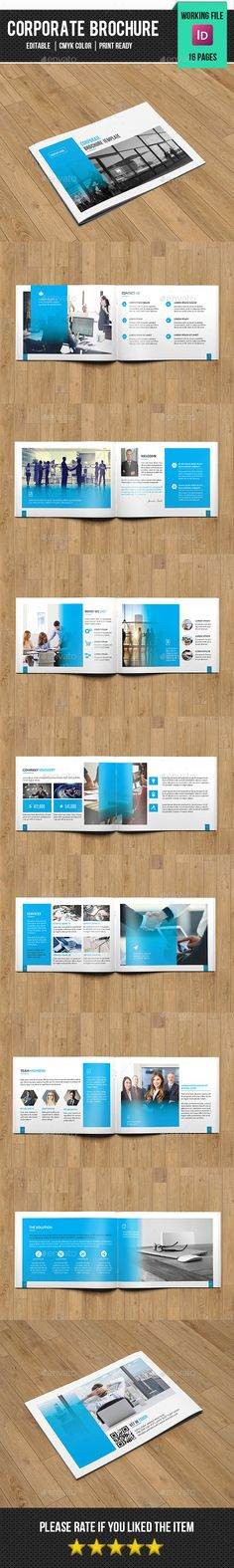 Clean Corporate Brochure/Catalog on Behance