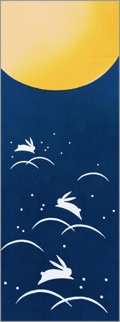 Tsukimi Usagi, moon-viewing rabbit