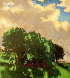 Santeri Salokivi 1886 - 1940 Trees 1914