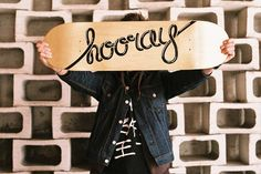 The Daily Board | Skate decks everyday, | Hooray quote skateboard deck by Matej Spanik | ...
