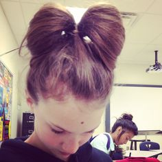 The bow for hair!