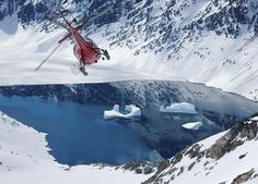 Follow Your Dreams with Helipro. Heliski and Heliboarding in Greenland.