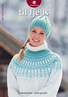 dk garn og opskrift finder du i min shop Knitting Patterns Free, Knit Patterns, Clothing Patterns, Free Pattern, Fair Isle Knitting, Hand Knitting, Drops Cotton Light, Drops Baby, Norwegian Knitting