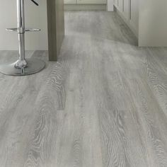 Howdens laminate flooring - Light grey oak