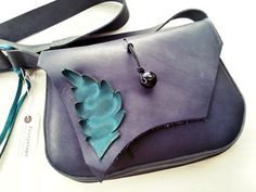 Womens Leather large bag satchel Fairy inspired by Fairysteps, £120.00