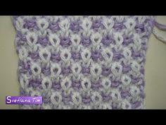 Двухцветный узор РИС или ПУТАНКА. Вязание спицами # 264 - YouTube