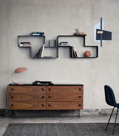 dedal-shelf-composition | wall shelves, cats | pinterest | modular