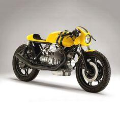 The Senna Guzzi Cafe Racer