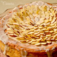 Browned butter almond torte - a different and delicious treat! At Little Miss Celebration @Cindy Eikenberg (littlemisscelebration)