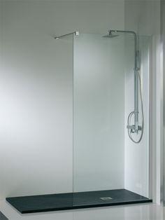 Aqua Solidstone FIX | Aquaconcept - Douchedeuren - Douchewanden - Inloopdouches - Douchebakken - Wandbekleding - Badwanden Tiny House Bathroom, Simple Bathroom, Modern Bathroom, Wet Room Shower, Dream Shower, Pretty Things, Cosy House, Bathroom Tile Designs, Shower Screen